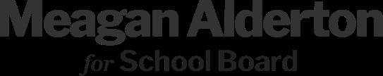 Meagan Alderton School Board
