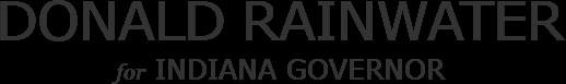 Donald Rainwater Indiana Governor