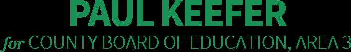 Paul Keefer County Board of Education, Area 3