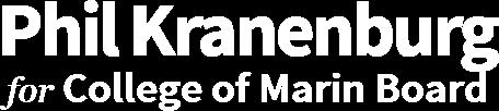Phil Kranenburg College of Marin Board