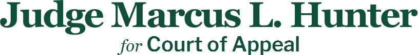 Judge Marcus L. Hunter Court of Appeal