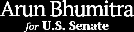 Arun Bhumitra U.S. Senate