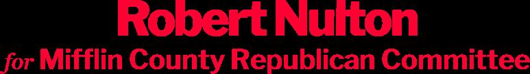 Robert Nulton Mifflin County Republican Committee