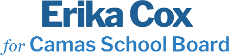 Erika Cox Camas School Board