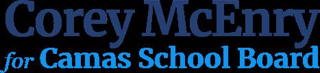 Corey McEnry Camas School Board
