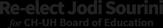 Re-elect Jodi Sourini CH-UH Board of Education