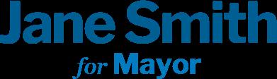 Vote Jane Smith - A Campaign Partner Sample Website