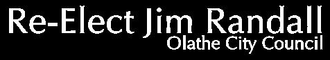 Re-Elect Jim Randall